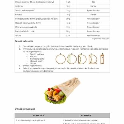 інструкція приготування тортильї a la kfc