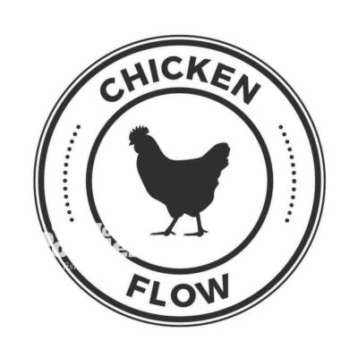 Логотип для ресторації з куркою