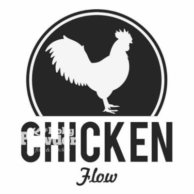 Логотип з куркою для редагування