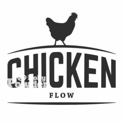 Модний логотип з куркою