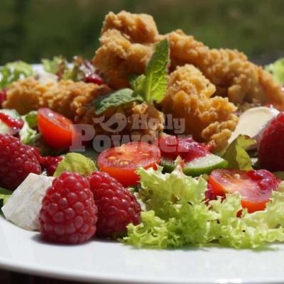 Золотисті стріпси в салаті