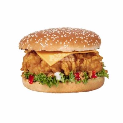 бургер з куркою знімок a la kfc