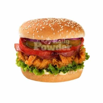 знімок бургера з куркою a la KFC