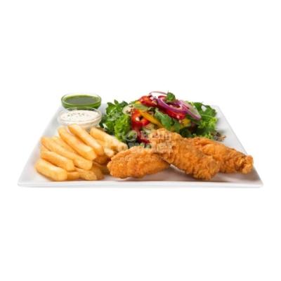 салати з пікантними крильцями a la KFC