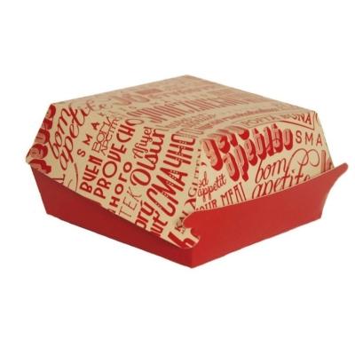 паперове упакування для бургера